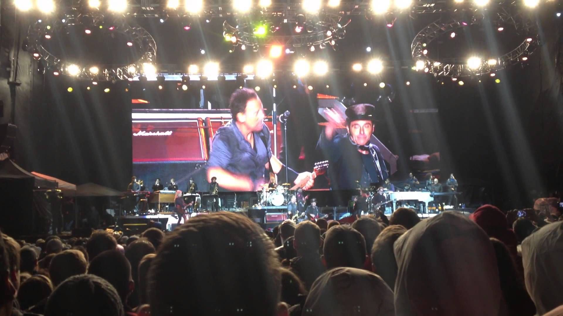 Bruce Springsteen Glory Days NCAA March Madness Music Festival Dallas