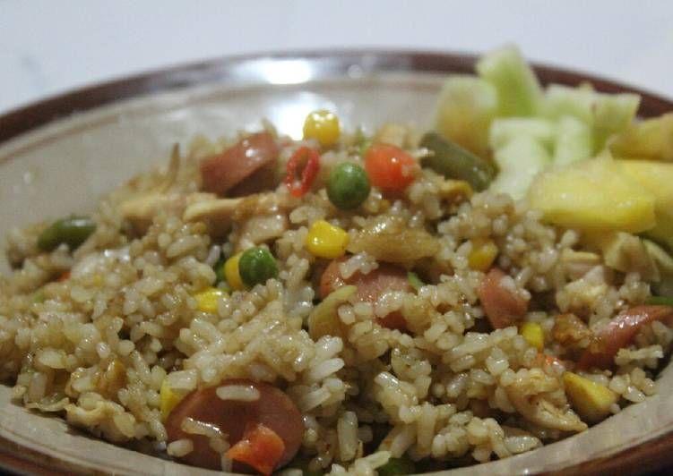 Resep Nasi Goreng Hongkong Ala Ala Catering Prasmanan Oleh Ummu Salman Resep Makanan Nasi Goreng Resep