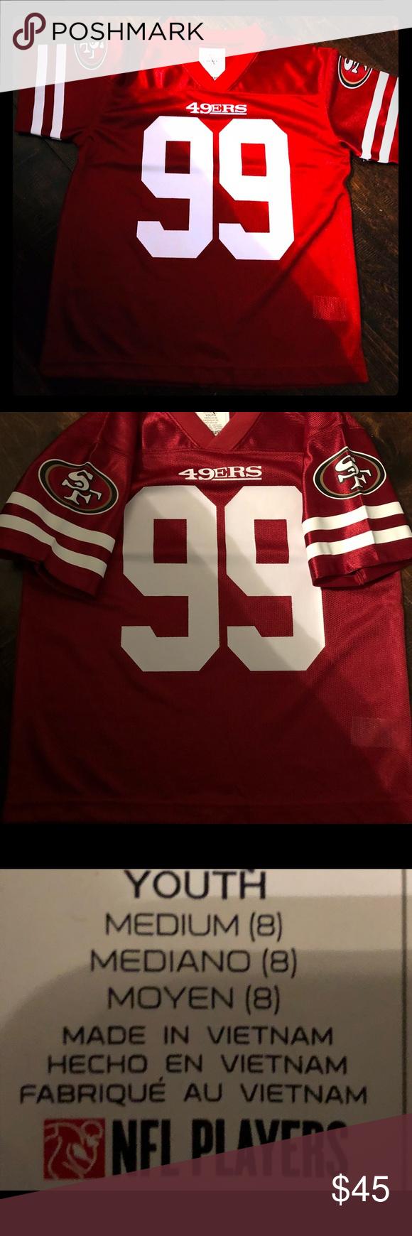 Kids Forrest BUCKNER SAN FRANCISCO jersey Med SZ 8 Youth size 8  Medium San  Francisco 49ers jersey Forrest Buckner NFL TEAM APPAREL NFL Shirts   Tops  Tees ... a62462faf