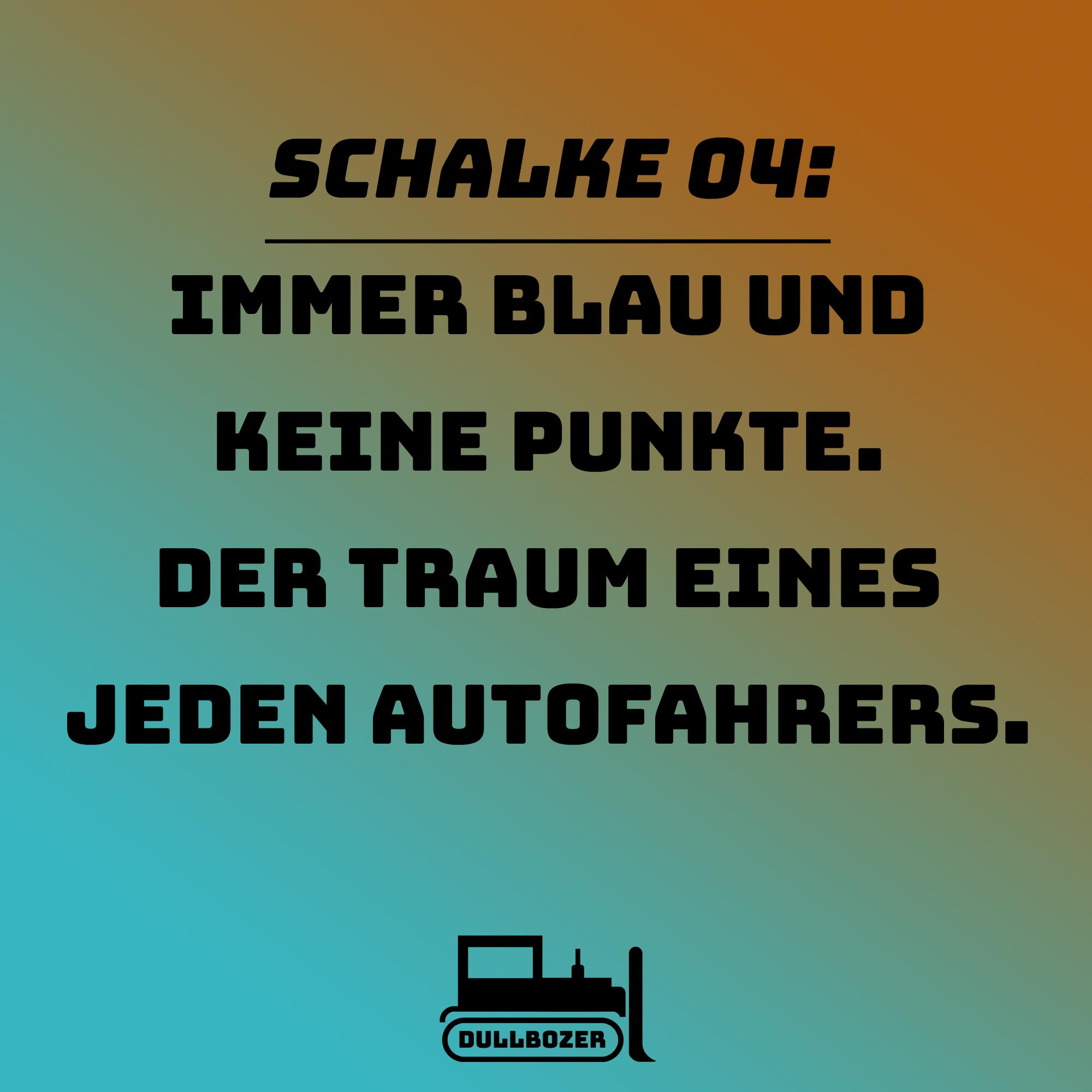 Schalke 04, Schalke, Borussia, Dortmund, Punkte, Fußball, Bundesliga, Spruch