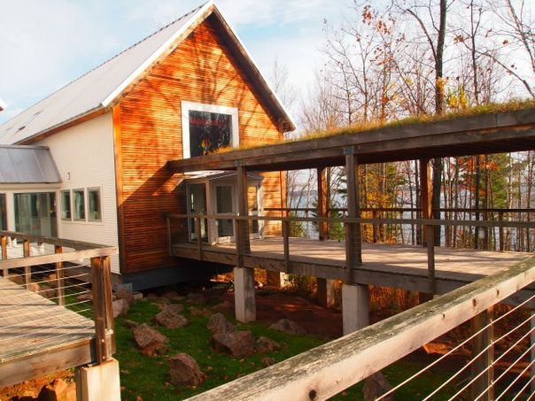 Wild Rice Restaurant Nestled In The Woods Outside Of Bayfield Is One