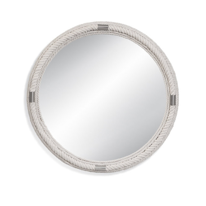 White Rope Coastal Mirror With Images Coastal Mirrors White Rope Mirror Wall