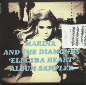 Marina & The Diamonds - Electra Heart Album Sampler (Promo)
