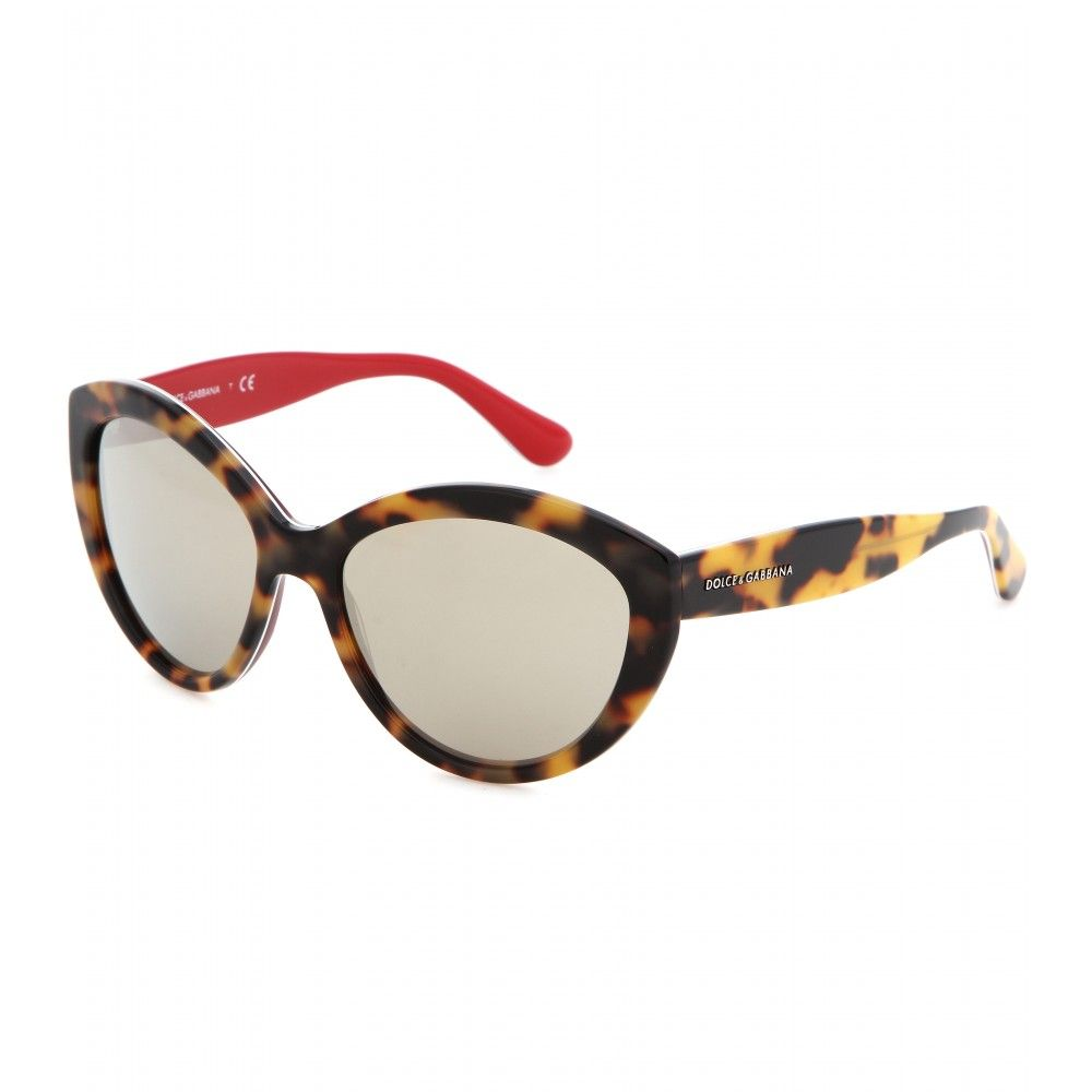 Dolce & Gabbana Tortoise Cat-eye sunglasses   Style   Pinterest