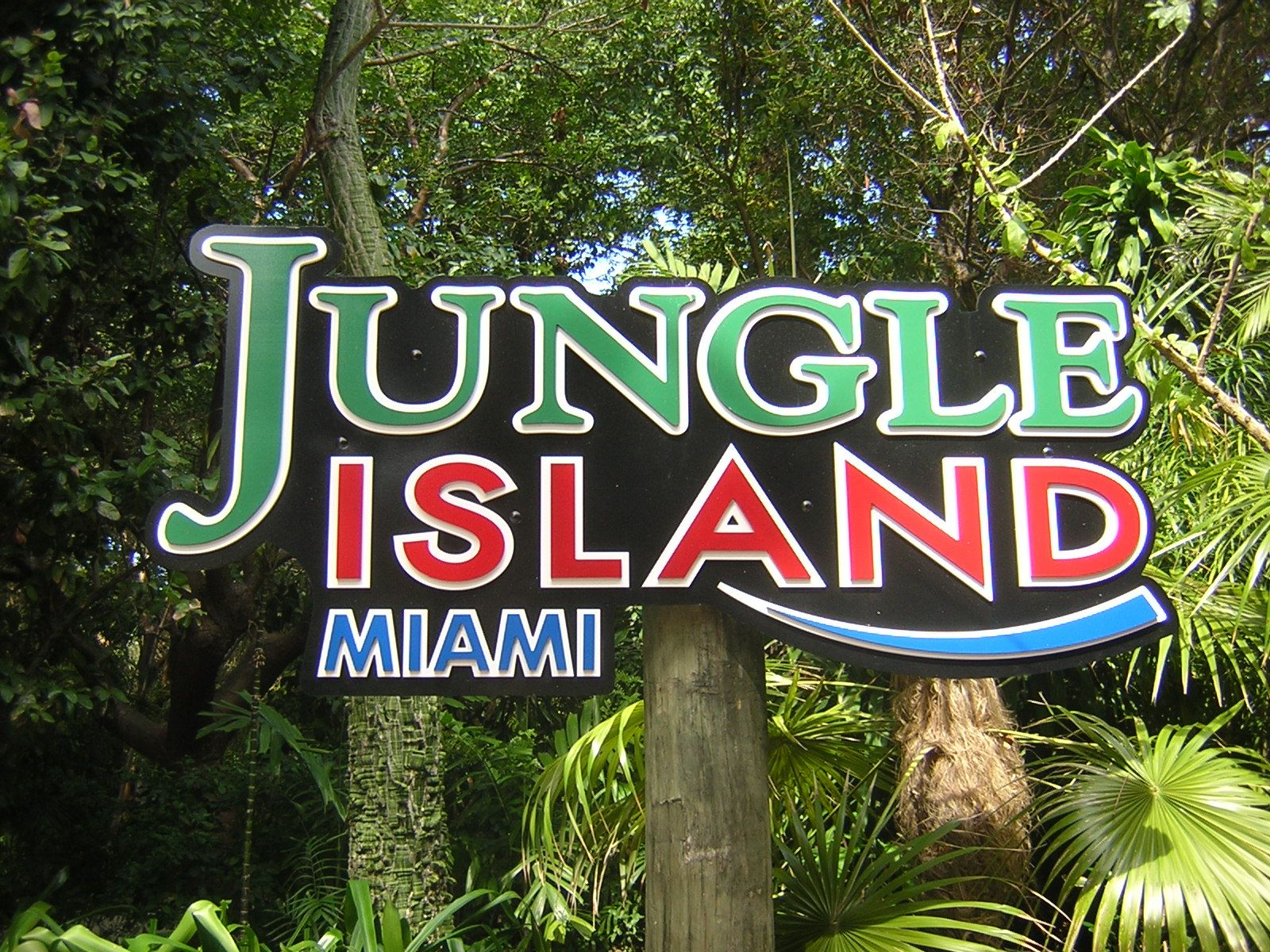 Take A Break In Jungle Island Miami Florida South Beach Field Trips Jungles