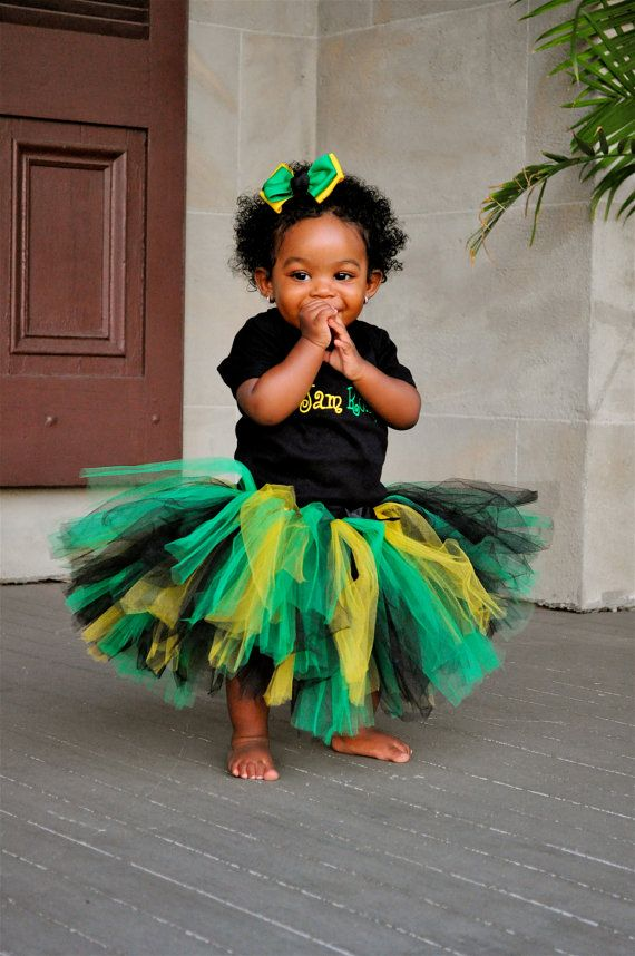 Jamaican Birthday Outfit Birthday Girl Outfit by ...