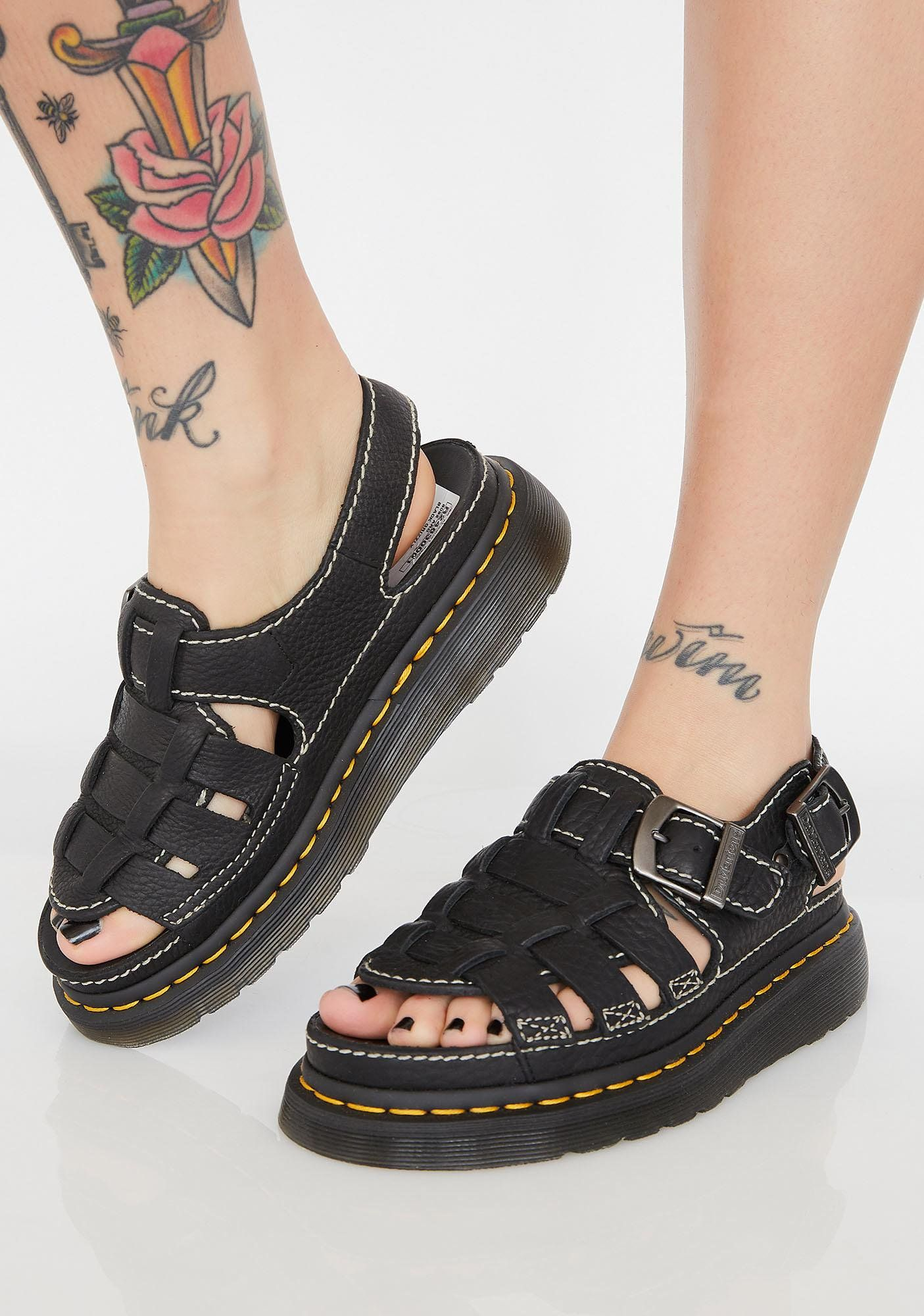 This Dr. Martens spin on a '90s inspired gladiator