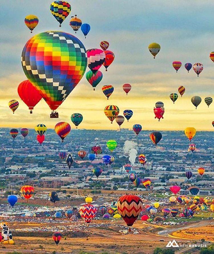 Albuqurque New Mexico international baloon festival