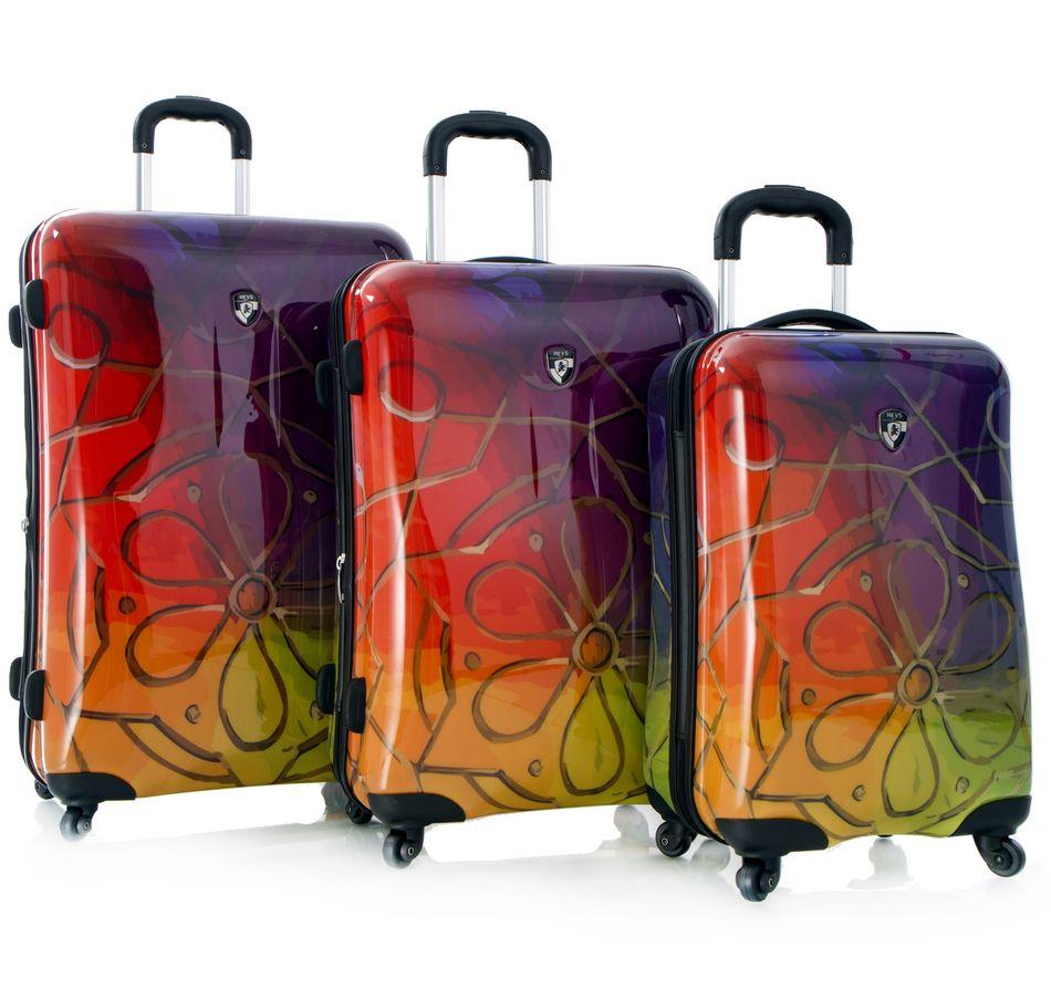 Buy Heys 3 Piece Expandable Fashion Spinner Luggage Set, Heys and ...