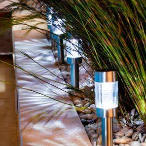 Solar lights landscaping ideas pinterest landscaping ideas exterior lighting hilarious solar lights aloadofball Images
