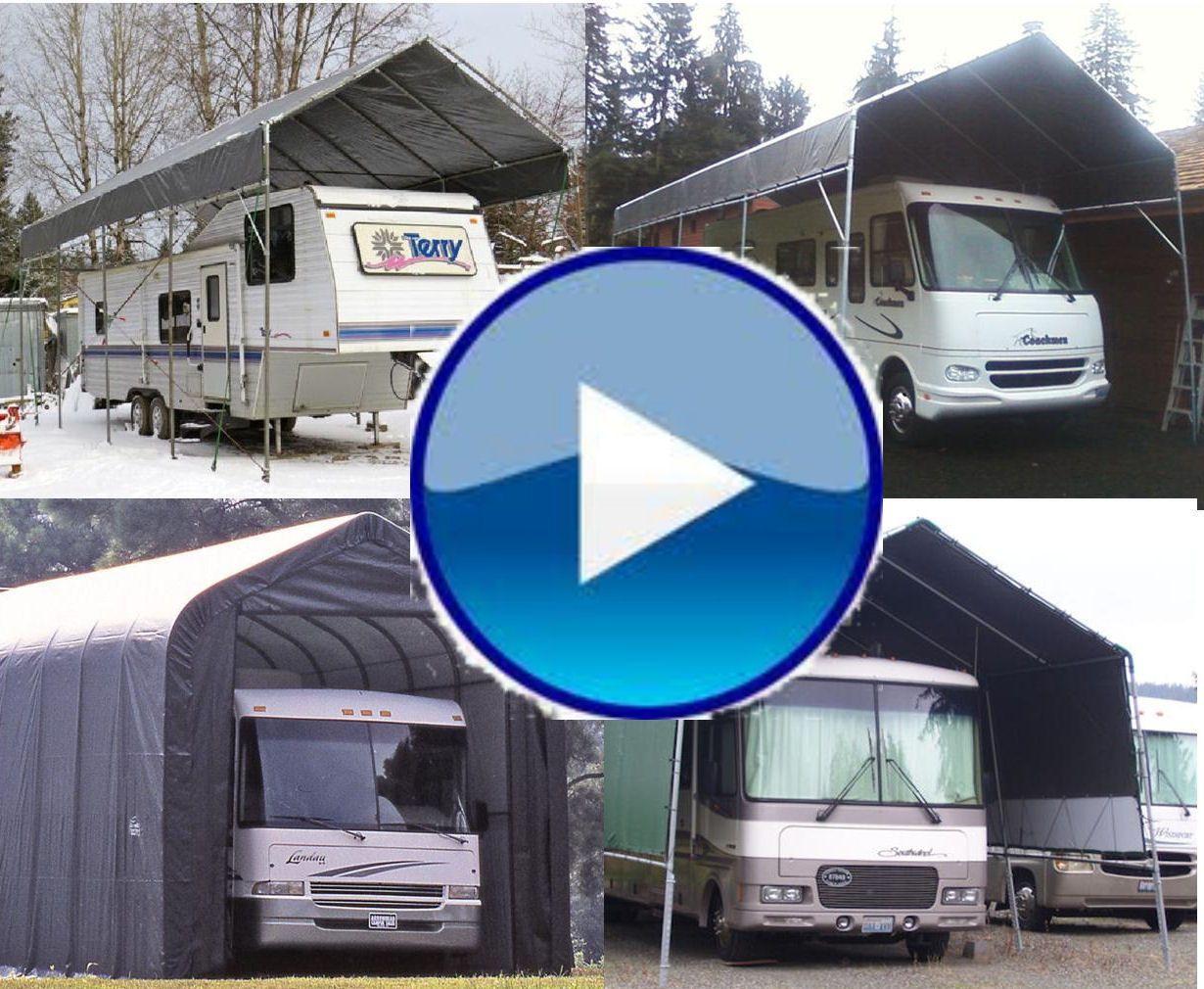All WeatherShield Portable Carport Shelter kits