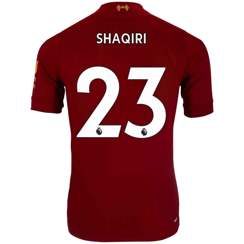 2019 20 New Balance Xherdan Shaqiri Liverpool Home Elite Jersey Liverpool Home Liverpool New Balance