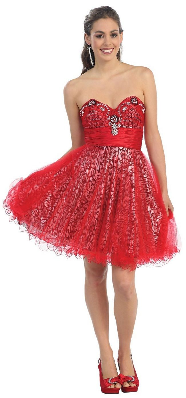 Sleeve Long red dress pictures
