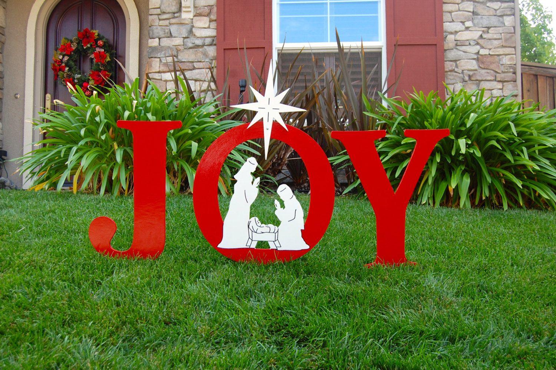 Etsy Product | Yard art, Outdoor christmas and Christmas holidays