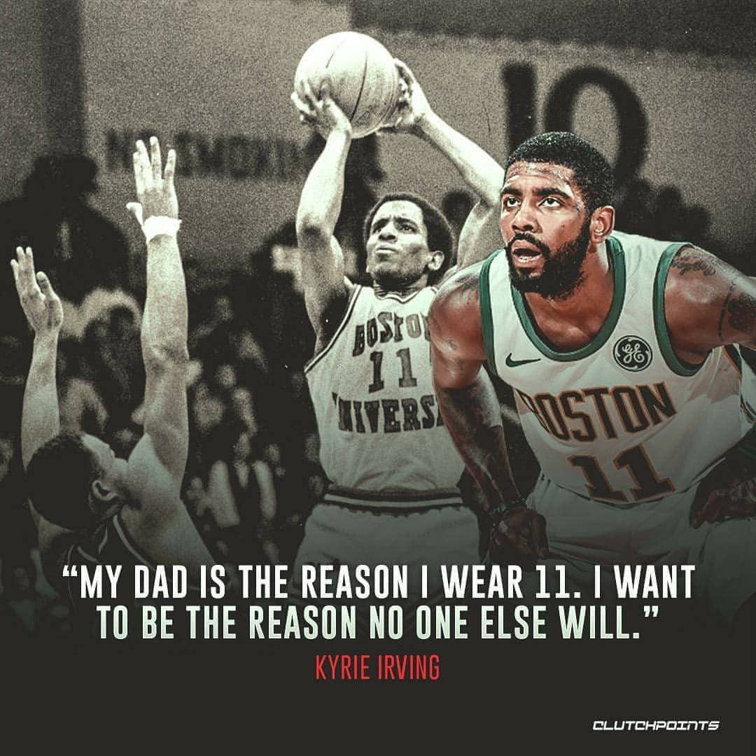 ec1ab7ef1a59 Kyrie Irving s dad gave up everything so his son could live out his NBA  dream. ❤️