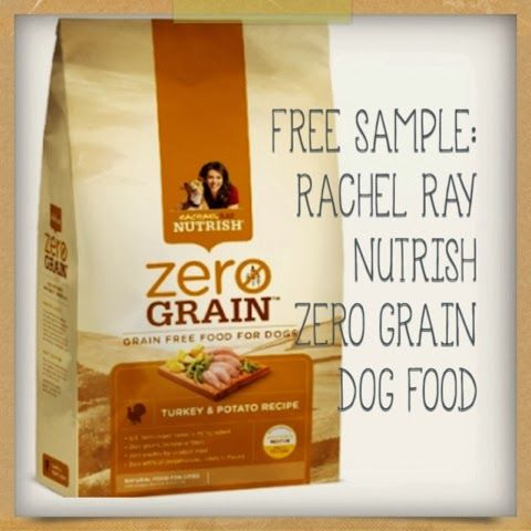 Free Sample Rachel Ray Nutrish Zero Grain Dog Food Dog Food