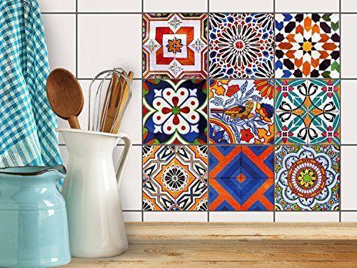 d coration carrelage autocollant salle de bain et cuisine sticker carrelage autocollant. Black Bedroom Furniture Sets. Home Design Ideas