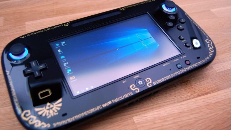Wii U GamePad Converted Into Windows 10 Handheld | DIY: In all