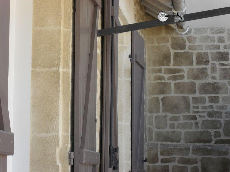 Rénovation du0027une entrée et du0027un intérieur de véranda en finition - Enduire Un Mur Exterieur En Parpaing