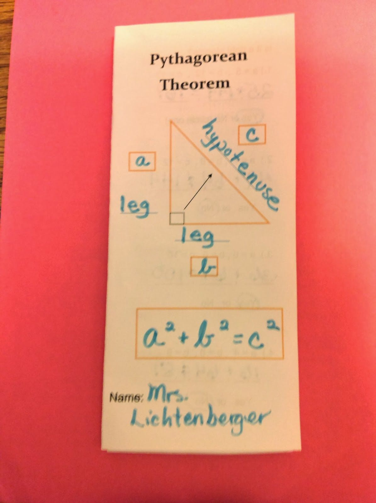 Getting Ready To Teach Pythagorean Theorem Part 1
