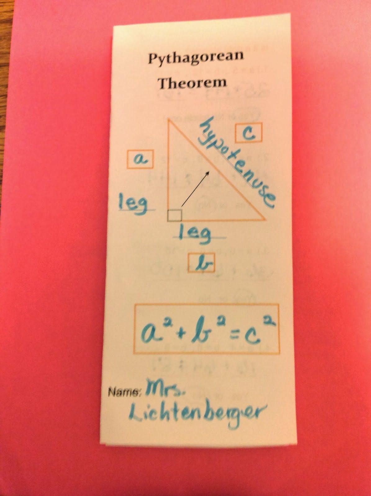 Getting Ready To Teach Pythagorean Theorem Part 1 Equation Freak
