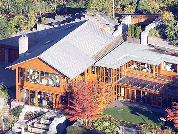 The Seattle Home Of Bill Gates Celebrity Homes Bill Gates S