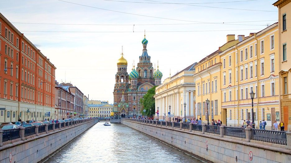 Church of the Savior on the Spilled Blood in St. Petersburg, | Expedia