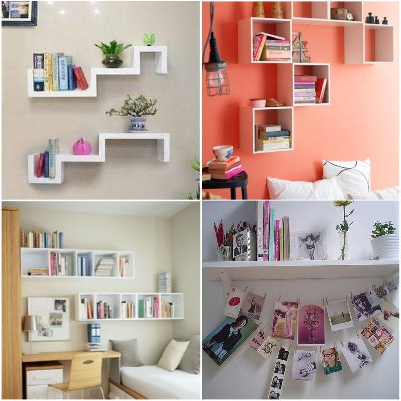 decoração, quarto, prateleira, decor,  Decoração  Pinterest  Prateleiras e