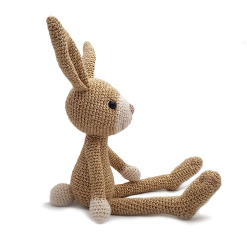 Hopper The Hare Amigurumi Pattern | tetszik | Pinterest | Tejidos ...