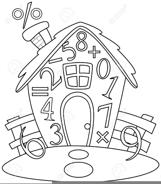 Math Clipart Clip Art Clipart Black And White Free Clip Art