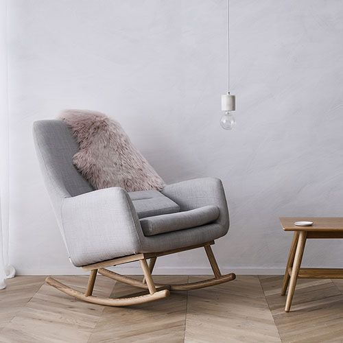 Norse Rocking Chair Grey Furniture Chairs Adairs