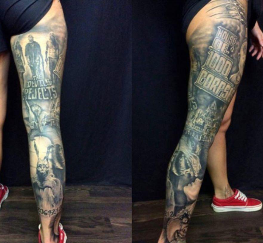 Pin By Tequilajasminee On Tattoos Horror Tattoo Movie Tattoos Tattoos