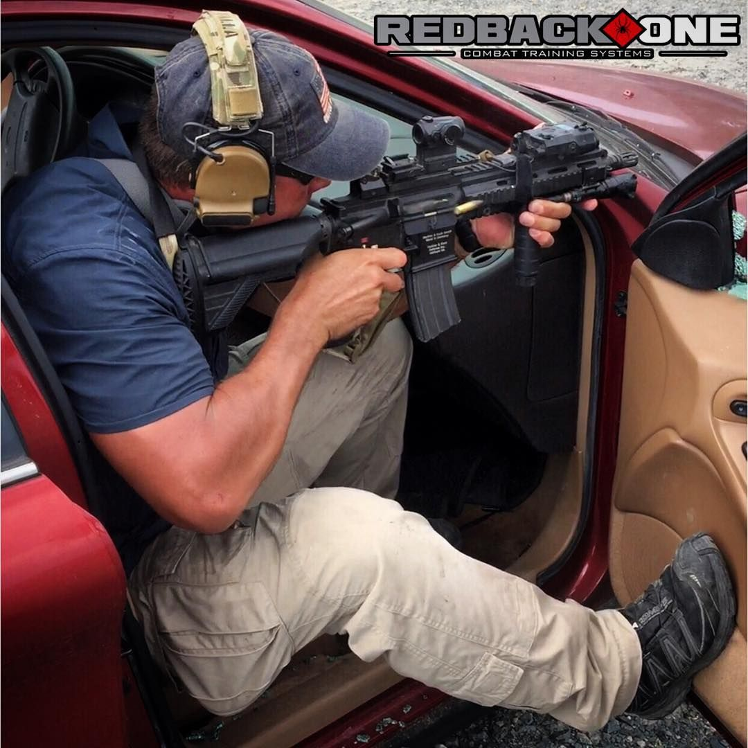 Break out & vehicle counter ambush drills...all part of