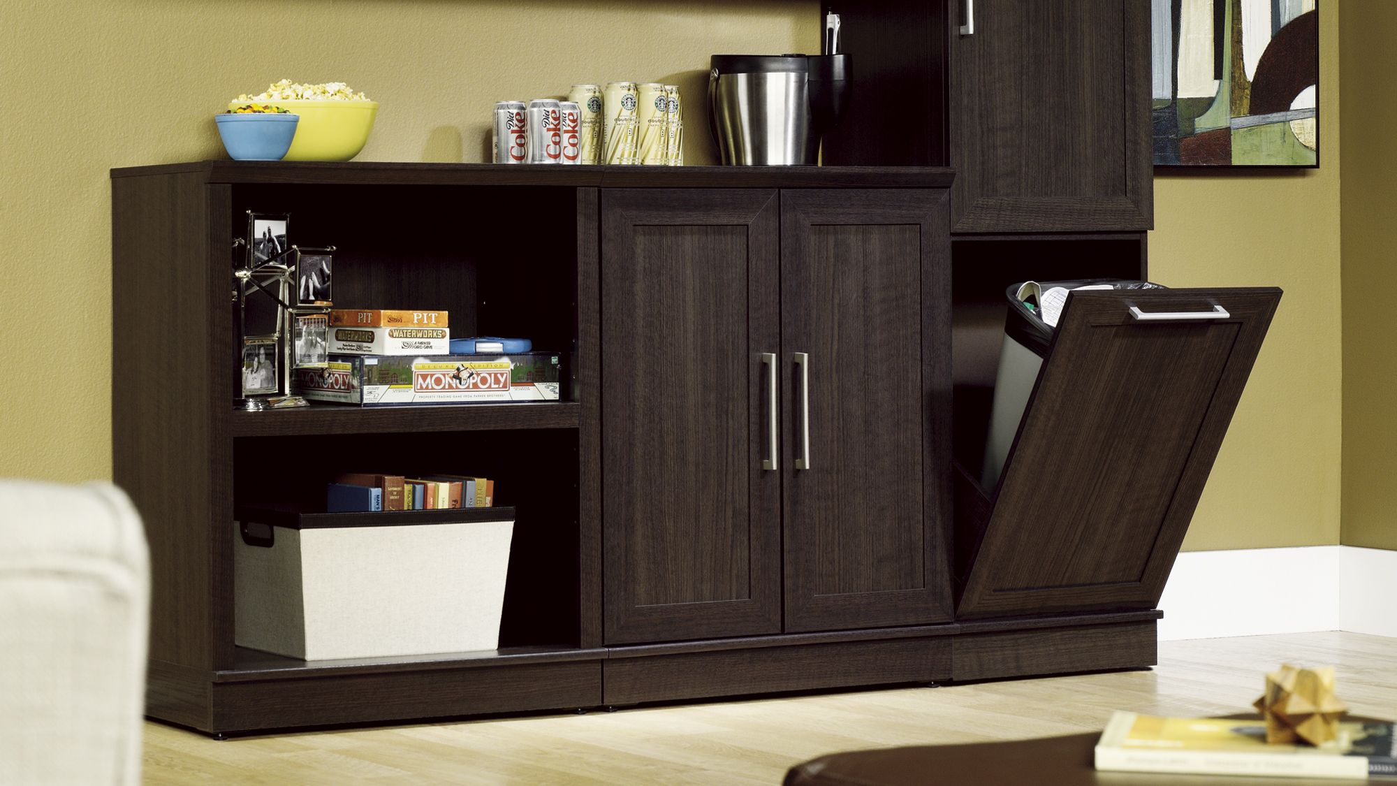 Homeplus Storage Cabinets Bookcases Tv Stands And More From Sauder Sauder Storage Cabinet Beautiful Storage Cabinet Kitchen Furniture Storage