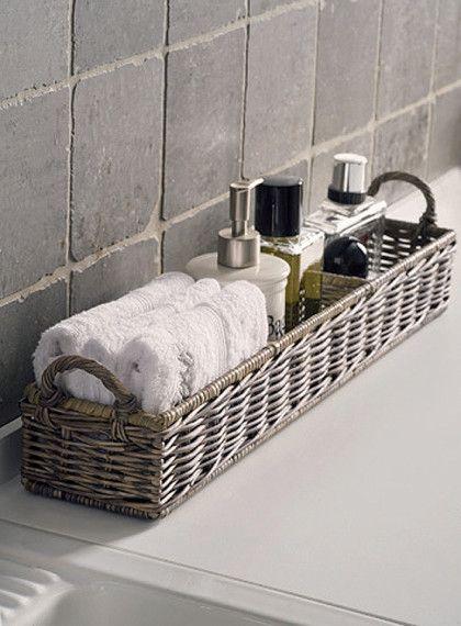 Pin Auf Korb Badezimmer Aufbewahrung