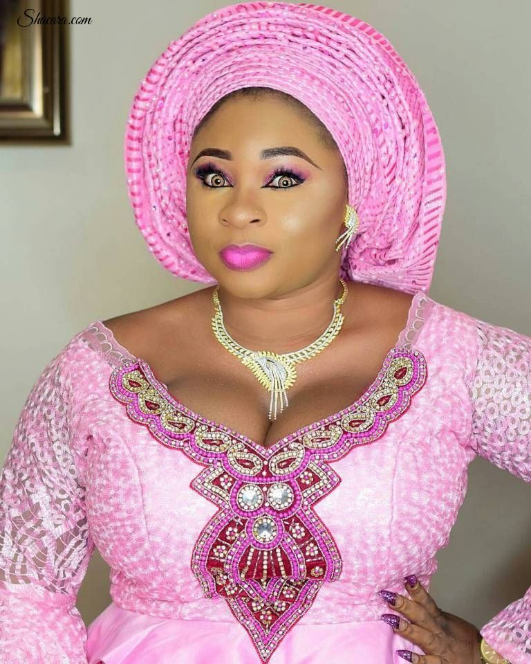 Stunning Is What We Call This Beautiful Gele Trend. in ...