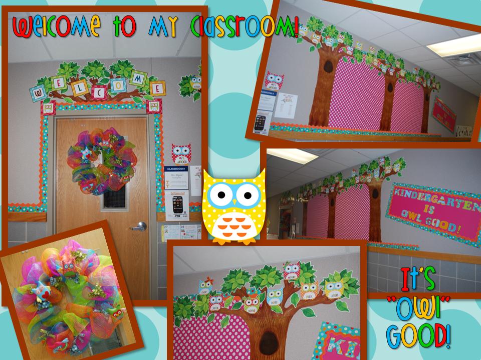 owl classroom theme Owl Themed ClassroomStephanie Allgood