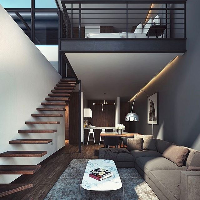 33 Staircase Designs Enriching Modern Interiors With: Staying In Is The New Going Out. 👌🏻
