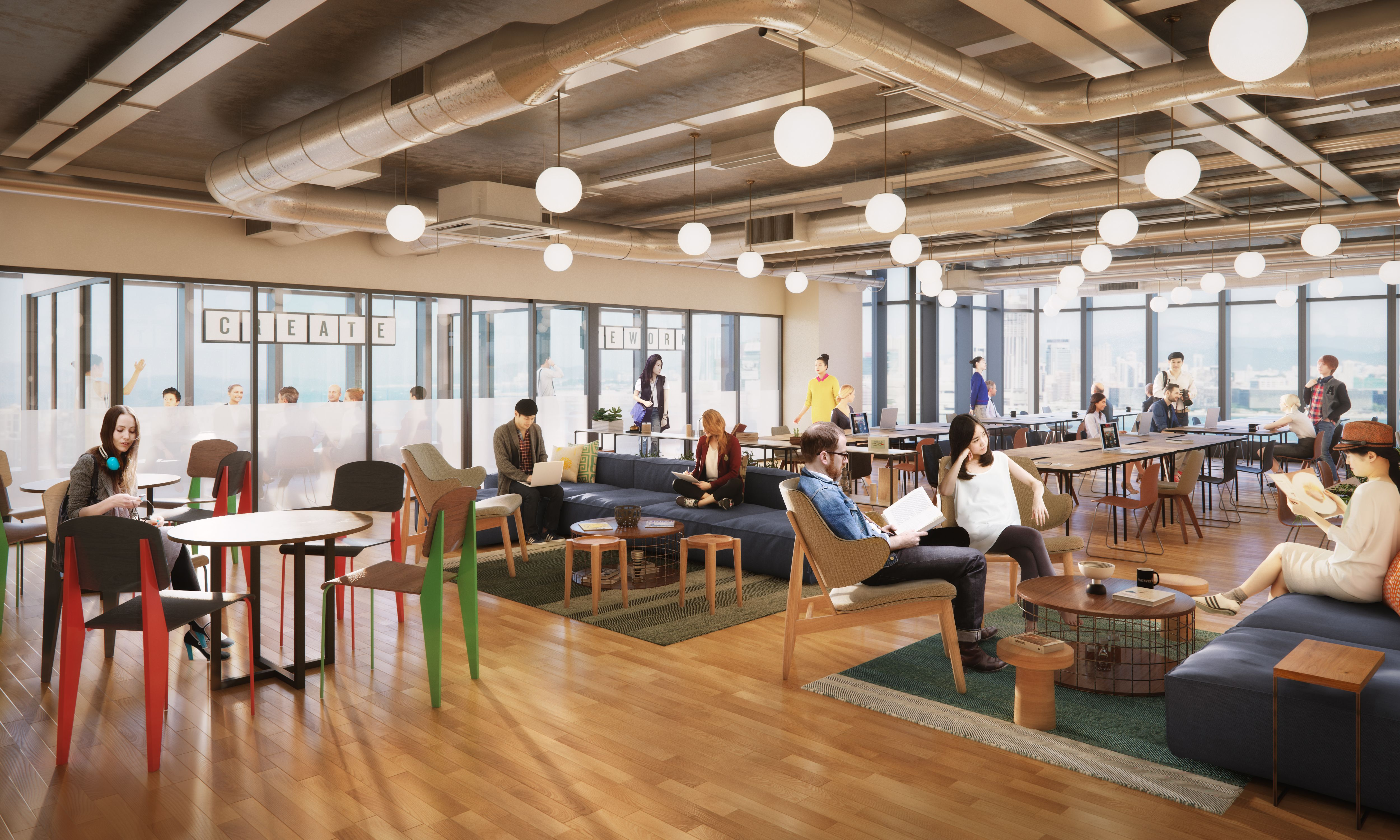 Tower 535 Coworking Office Space | WeWork Hong Kong ...