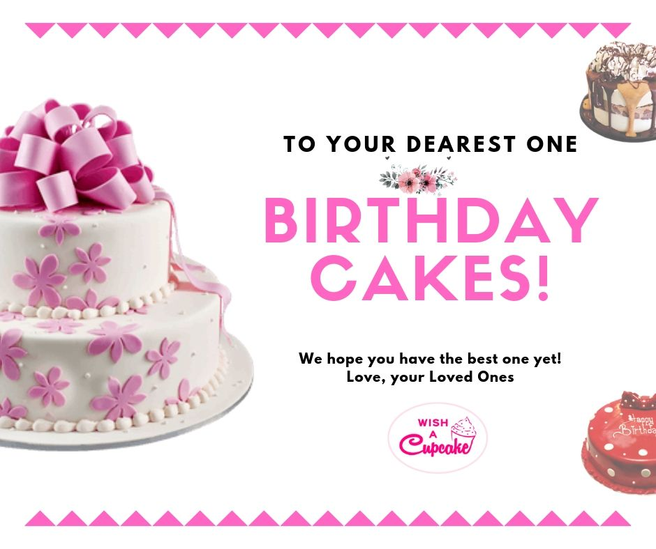 Tremendous Buy And Send Birthday Cakes Online With Wish A Cupcake We Offer Funny Birthday Cards Online Overcheapnameinfo