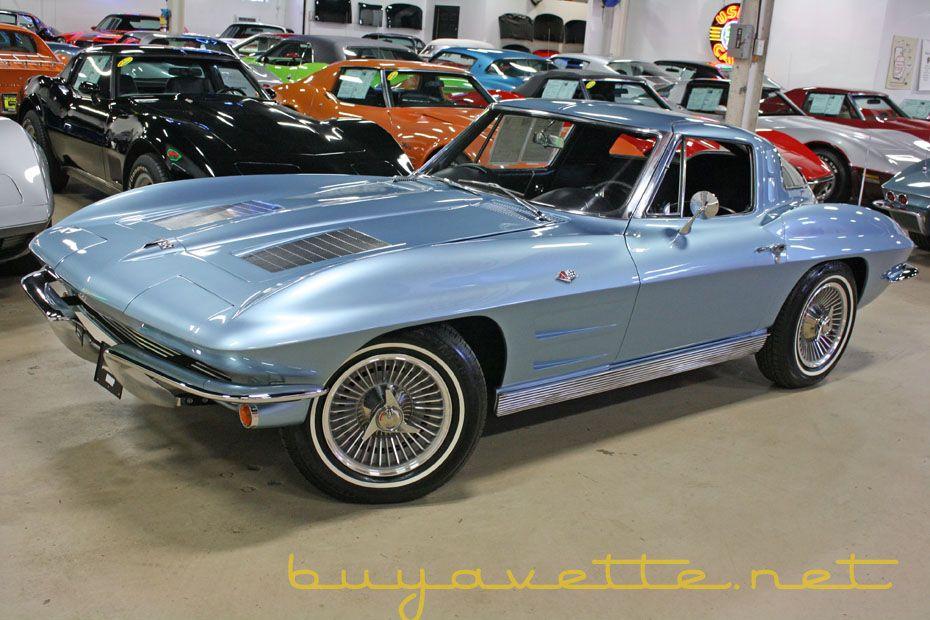 1963 Corvette Split Window Coupe For Sale Chevrolet
