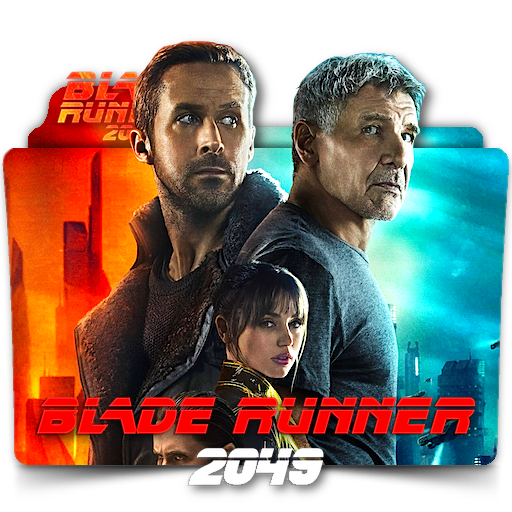 Blade Runner 2049 movie folder icon v2 by zenoasis Filmek
