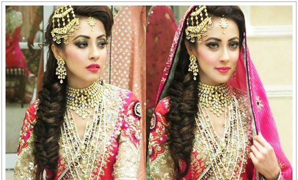 Pakistani Wedding Hairstyles For Short Hair Pakistani Bridal Makeup Pakistani Wedding Hairstyles Bridal Makeup Looks