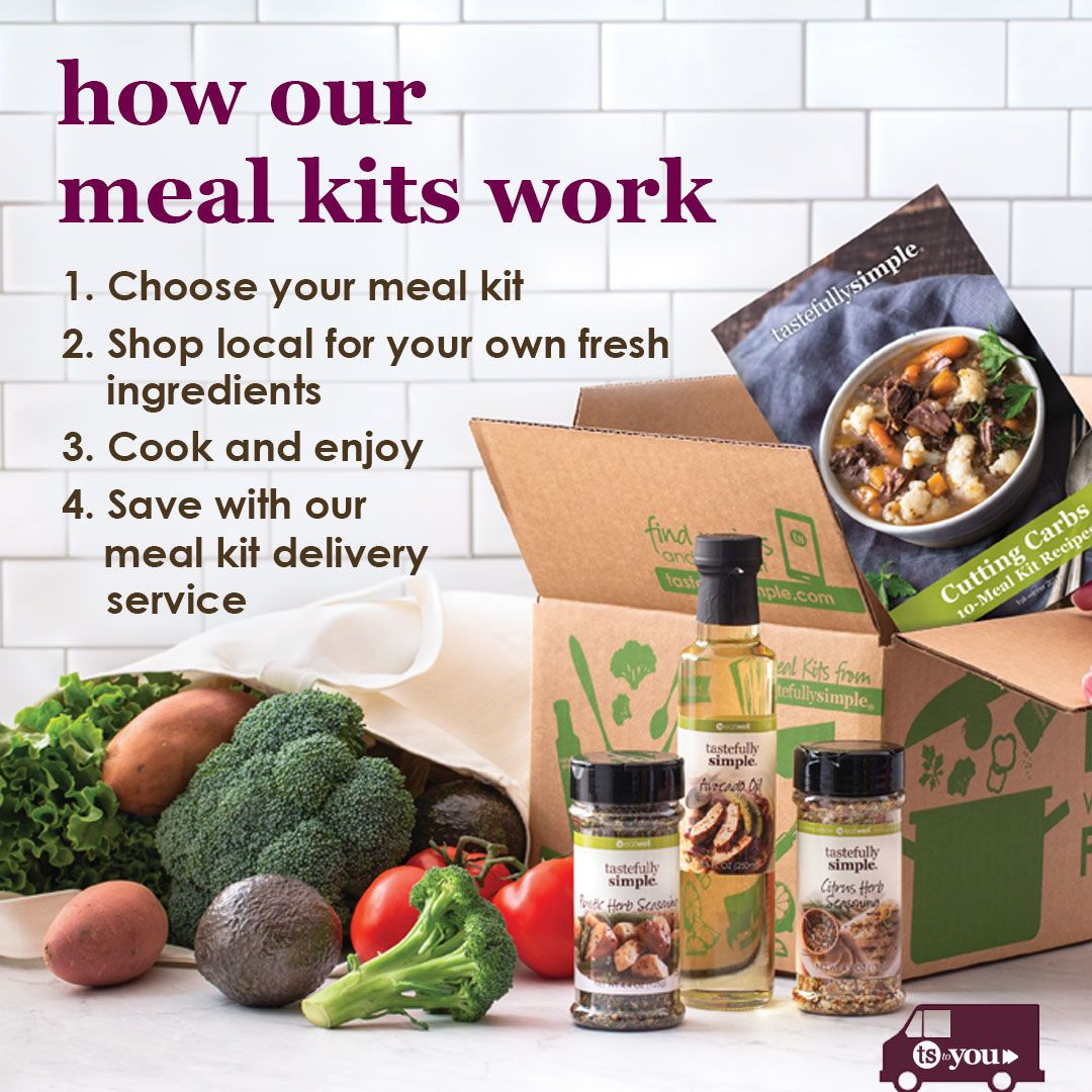 Tastefully Simple S Meal Kits Are Different In An Amazing Way They Allow You To Custo Tastefully Simple Recipes Tastefully Simple Consultant Tastefully Simple