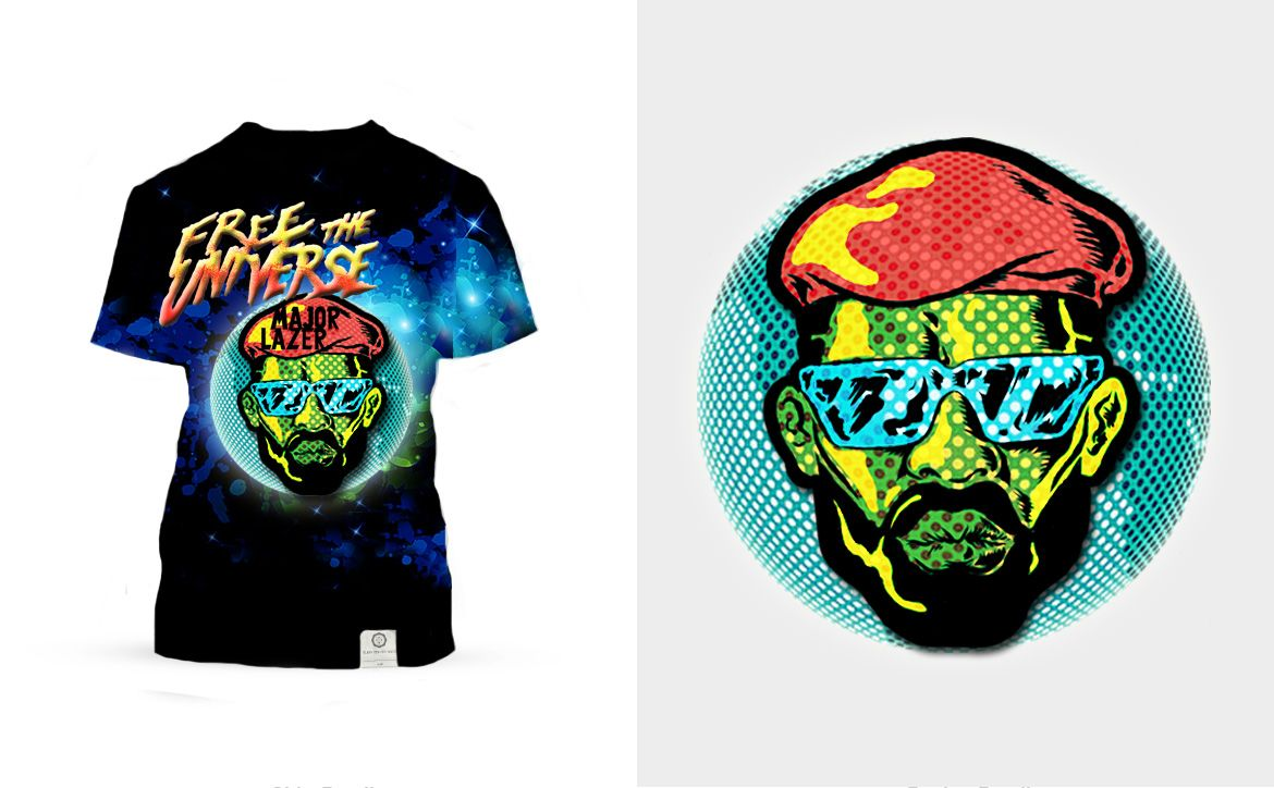 "Contest ""Major Lazer"""