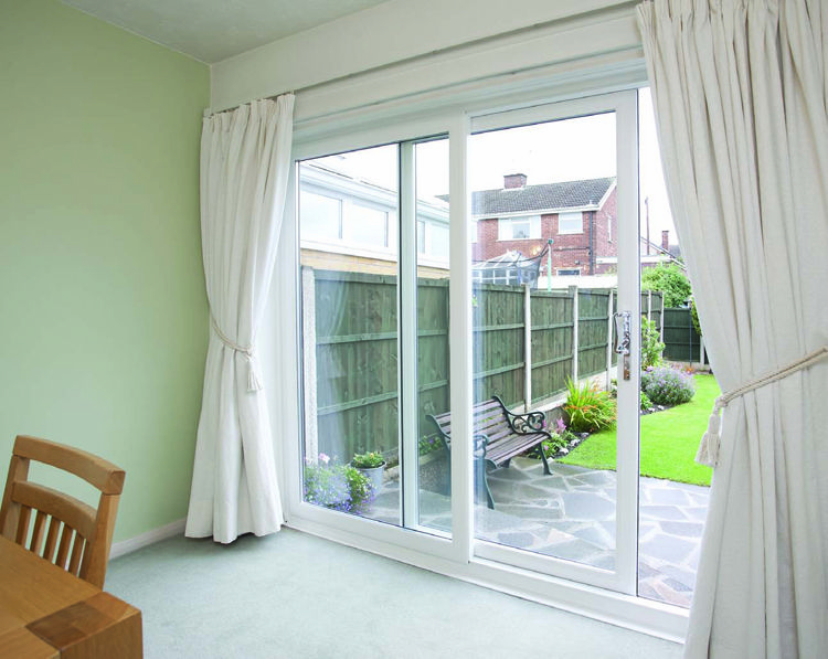 8u0027 Sliding Glass Patio Doors | The Oustanding Photo Is Part Of 3 Panel  Sliding