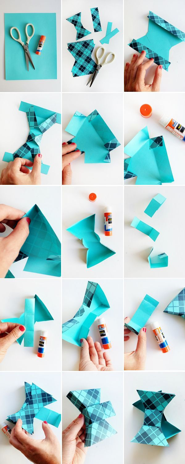 Printable Father's Day Bow Tie Box | Oh Happy Day! | Bloglovin'
