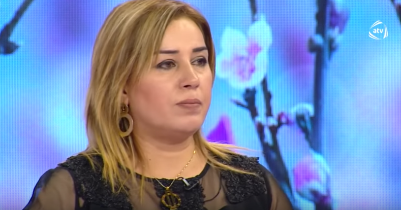 Blogger Humay Qarabagli Məmmədova Azerbaidjan