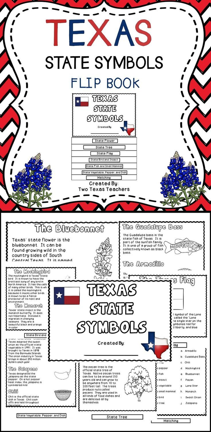 Texas Best Of Tpt Pinterest Fun Learning Flip Books And Texas