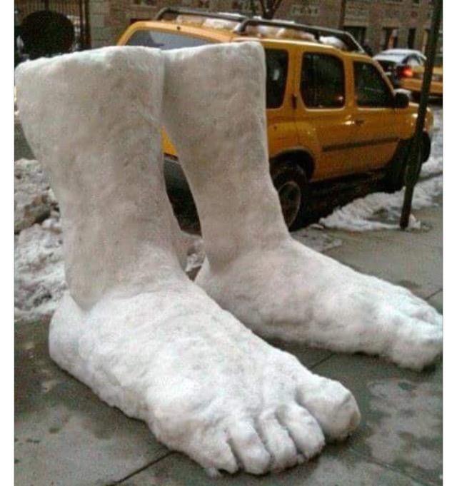 2 Feet of Snow!